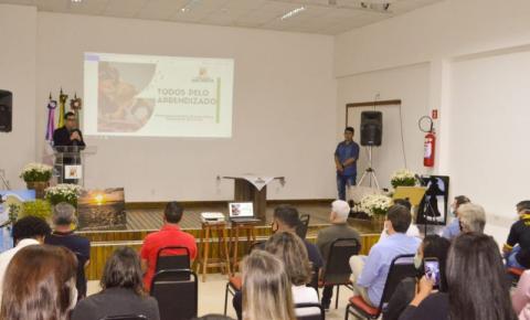Lançado programa que pretende tornar educação de Anchieta referência no Estado