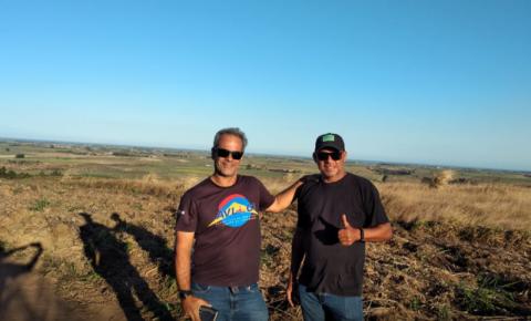 Associação de Voo Livre de Cachoeiro realiza visita técnica ao Morro da Palha
