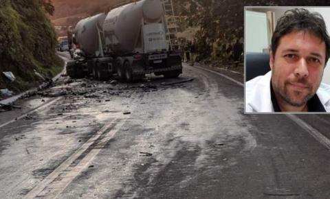 Médico que atuava na linha de frente da covid-19 no morre em grave acidente