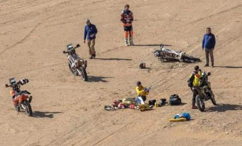 Piloto português Paulo Gonçalves morre após acidente na 7ª etapa do Rally Dakar