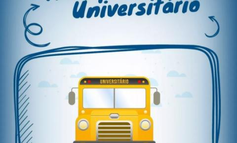 Abertas as inscrições para a renovação de carteiras para o Transporte Universitário de Marataízes