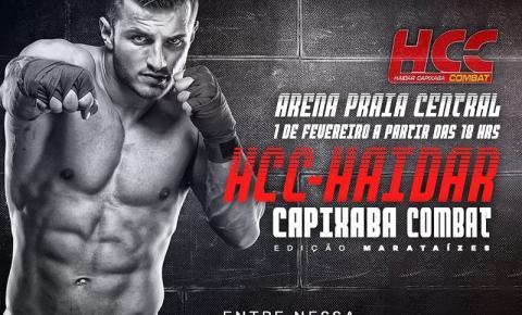 MMA: Acontece hoje o HCC - Haidar Capixaba Combat - Edição Marataízes