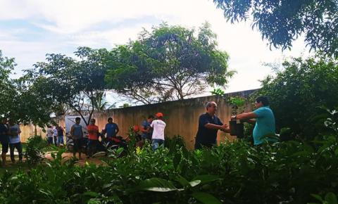Prefeitura de Marataízes entrega de mudas frutíferas para produtores rurais