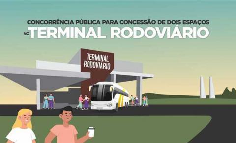 Itapemirim abre Concorrência Pública para concessão de uso de dois espaços na Rodoviária