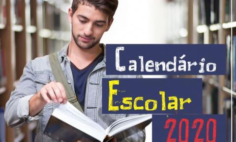 Aulas começam hoje(05); Confira o calendário Escolar 2020 em Piúma
