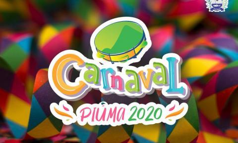 Piúma Programação do Carnaval 2020