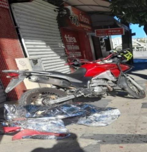 Motociclista morre de acidente na Beira Rio em Cachoeiro