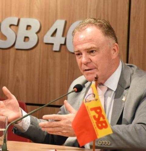 PSB nacional quer Casagrande como pré-candidato à Presidência, diz colunista