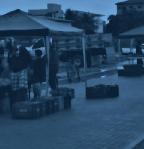 Produtores rurais e pescadores artesanais de Marataízes se preparam para a volta da Feira Livre