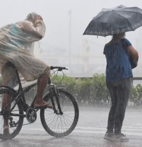 Mudança no tempo: previsão de chuva e temperaturas amenas no ES