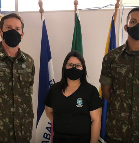 Junta de Serviço Militar de Marataízes recebe visita técnica do Exército Brasileiro