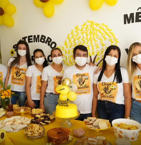 Secretaria Municipal de Saúde segue com atividades do Setembro Amarelo